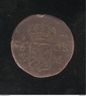 1/6 Ore Suède 1718 - Carl XIII - Sweden