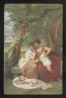 *Antoine Joseph Wiertz - L'heureux Famille* Ed. Stengel Nº 29125. Nueva. - Pintura & Cuadros