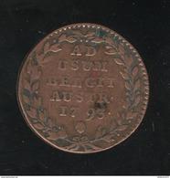 2 Liards Pays-Bas Autrichiens 1793 François II - [ 1] …-1795 : Période Ancienne