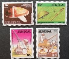 Senegal 1985 Traditional Musical Instruments - Senegal (1960-...)