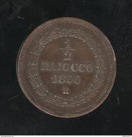1/2 Baiocco Etats Pontificaux 1850 - SUP - Vatican