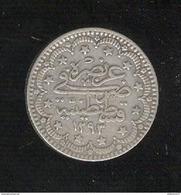 5 Kurus Empire Ottoman 1896 Abdul Hamid II - TTB+ - Turkey