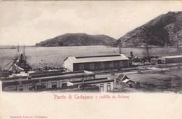 Espagne - Puerto Di Cartagena Y Castillo De Galeras - Spain