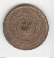 4 Centesimos Uruguay 1869 TTB+ - Uruguay