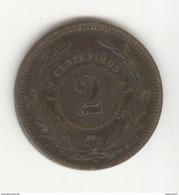 2 Centesimos Uruguay 1869 TTB+ - Uruguay