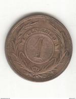 1 Centesimo Uruguay 1869 SUP - Uruguay