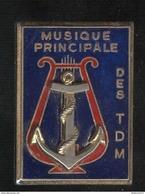 Insigne Musique Principale Des Troupes De Marines - Fraisse - Marine