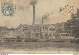 CPA  Environs De Dreux - Papeterie Firmin Didot à Sorel Moussel -  Circulée 1903 - Dreux