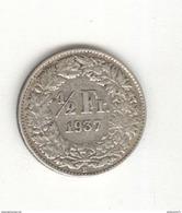 1/2 Franc Suisse / Switzerland 1937 TTB+ - Suisse