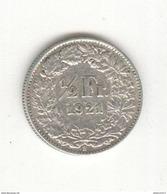 1/2 Franc Suisse / Switzerland 1921 TTB+ - Suisse
