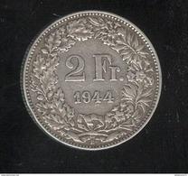 2 Francs Suisse / Switzerland 1944 TTB - Switzerland