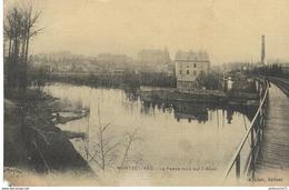 CPA  Montbéliard - Passerelle Sur L'Allan -  Circulée - Montbéliard