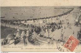 CPA  Arcachon - Entrée Du La Place Thiers   - Circulée 1915 - Arcachon