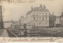CPA  Douai - Pont - Rue Des Dominicains -  Circulée 1903 - Douai