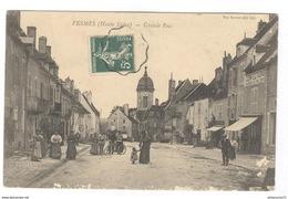 CPA Pesmes - Grande Rue - Circulée 1909 - Pesmes