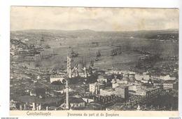 CPA Constantinople - Panorama Du Port St Du Bosphore - Non Circulée - Turchia