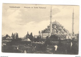 CPA - Constantinople - Mosquée Du Sultan Mohamed - Non Circulée - Turchia