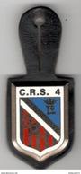 Insigne C.R.S.4 -  Ballard - Très Bon état - Polizia