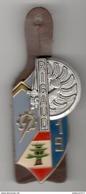 Insigne 19ème Promotion ENTSOA École Nationale Technique Des Sous-officiers D'active - Béraudy - Très Bon état - Army