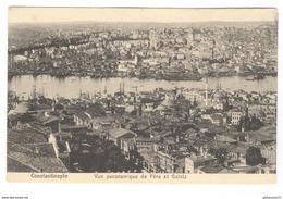 CPA Constantinople - Panorama De Péra Et Galata - Non Circulée - Turchia