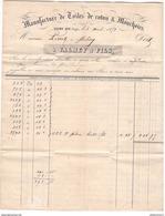 Marcophilie - Lettre De St Dié Des Vosges à Mélisey - 1851 - Marcophilie (Lettres)