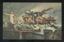 *Rudolph Henneberg - Die Jagd Nach Dem Glück* Ed. Stengel Nº 29749. Nueva. - Pintura & Cuadros