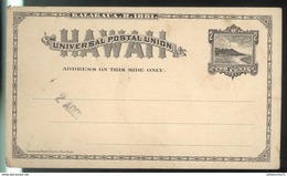 Entier Postal 2 Cents - Hawaï - Cartes Postales