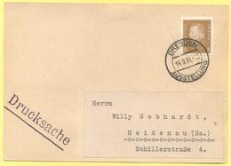 Deutsches Reich - 1931 - 3 + Special Cancel Dresden Ausstellung - Drucksache - Viaggiata Da Dresden Per Heidenau - Germania