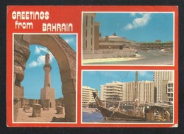 Bahrain 3 Scene Picture Postcard - Bahrain