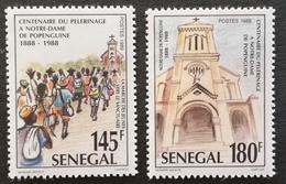 Senegal  1989 Pilgrimage To Notre Dame De Popenguine Cent. - Senegal (1960-...)