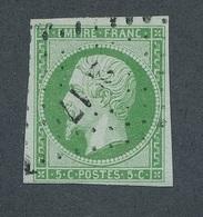 """CH-14: FRANCE: Lot Avec """"NAPOLEON""""  Avec N°12 Obl (signé) - 1853-1860 Napoléon III"""