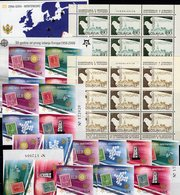 OSCE 1980 JUGOSLAVIJA 1857/8KB,Crna Gora 108/1,ZD,VB+Bl.2B/3 ** 440€ CEPT Taube Bloc Bird Sheets Sheetlet Bf EUROPA - Montenegro