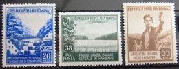 ROUMANIE                  N° 1312/1314                  NEUF** - 1948-.... Republics