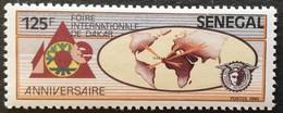Senegal  1985 Dakar Intl. Fair 10th. Anniv. - Senegal (1960-...)