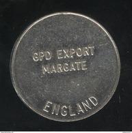 Jeton No Value - 1 - For Amusement Only - Gdp Export Margate - Professionnels/De Société
