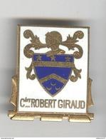 Insigne Cdt Robert Giraud - Arthus Bertrand Paris - Très Bon état - Marine
