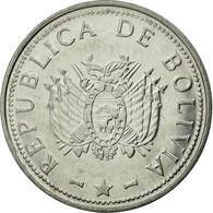 Monnaie, Bolivie, Boliviano, 2008, TTB, Stainless Steel, KM:205 - Bolivie