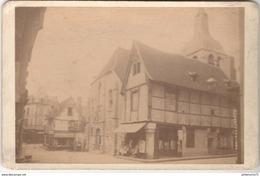 Photo Ancienne Sur Carton  Montluçon Eglise Saint Pierre - Circa 1900 - Photos