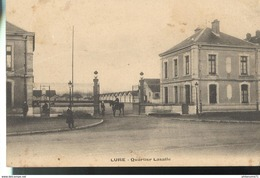 Cpa Lure - Quartier Lasalle -  Circulée 1907 - Lure
