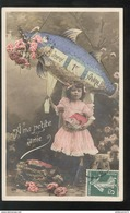 CPA 1er Avril - Joyeux Premier Avril - A Ma Petite Amie - Circulée - April Fool's Day