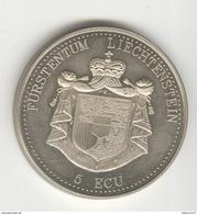 5 Ecu Liechtenstein 1993 - Furstentum Liechtennstein - SUP - Gettoni E Medaglie