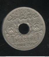 1 Piastre Syrie 1935 - Syrie