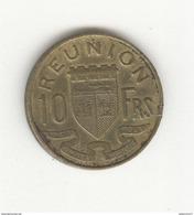 10 Francs Réunion 1952 - Colonie Française - TTB - Réunion
