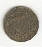 20 Francs Réunion 1955 - Colonie Française - TTB - Réunion