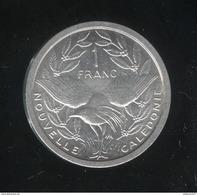 1 Franc Nouvelle Calédonie  1972 - SUP - New Caledonia