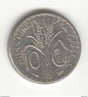 10 Centimes Indochine Française 1940 - TTB+ - Colonies