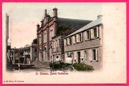 Cpa - Antilles - St Thomas - Dansk Vestindien - Saint Thomas -  Animée - Edit. A.H. RIISE - Colorisée - Vierges (Iles), Amér.