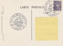 OBLIT. ILLUSTRÉE SALON DE LA MARINE - PARIS 6/43 - Bolli Commemorativi