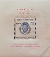 Senegal John F. Kennedy (1917-1963) S/S - Senegal (1960-...)