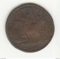 Jeton Louis XV 1733 - TTB+ - Royal / Of Nobility